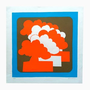 Screen Print by Alfonso Frasnedi, 1970s
