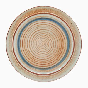 Ceramic Plate by Nanni Valentini for Ceramica Arcore, 1970s