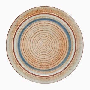 Ceramic Plate by Nanni Valentini for Ceramica Arcore, 1970s