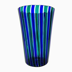 Vase par Gio Ponti pour Venini, 1980s