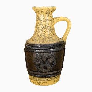 Jarrón de cerámica de VEB Keramische Werke Haldensleben, años 70