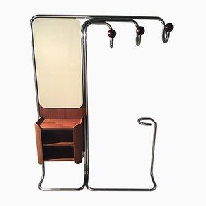 Portemanteau Mid-Century avec Miroir