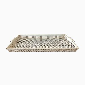 Perforated Metal Serving Tray by Mathieu Matégot for Atelier Matégot, 1950s