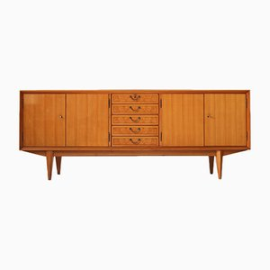 Cherry Sideboard with Burl Inlays, 1950s