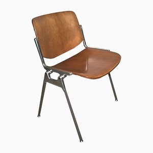 DSC 106 Desk Chair by Giancarlo Piretti for Anonima Castelli, 1960s