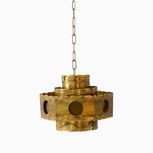 Lámpara colgante escandinava vintage de Svend Aage Holm Sørensen para Thea