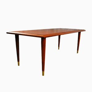 English Teak Game Table, 1960s
