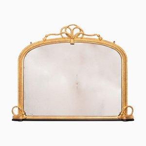 Specchio antico in legno dorato, Regno Unito, metà XIX secolo