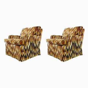Vintage ZigZag Stühle von Bielefelder Werkstätten, 1970er, 2er Set