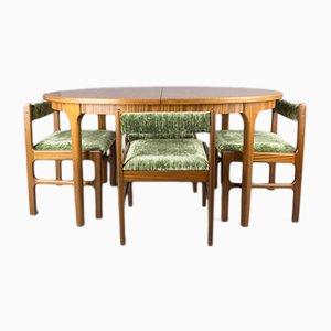 Tavolo e sedie da pranzo vintage di McIntosh, anni '60