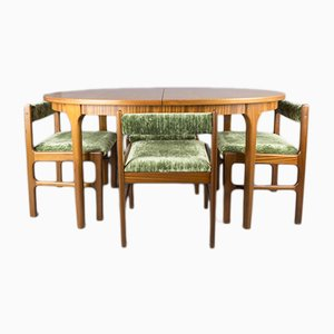 Vintage Dining Table & Chairs Set from McIntosh, 1960s