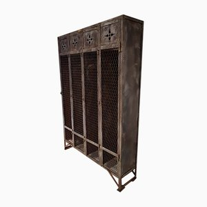 German Metal Locker Cabinet, 1930s