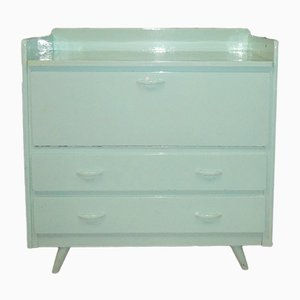 Vintage Mint Green Nursing Dresser