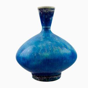 Vaso vintage in ceramica di Berndt Friberg, Svezia
