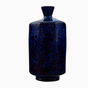 Schwedische Vintage Keramikvase von Berndt Friberg