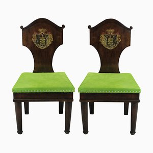 Antique Mahogany Side Chairs, Set of 2