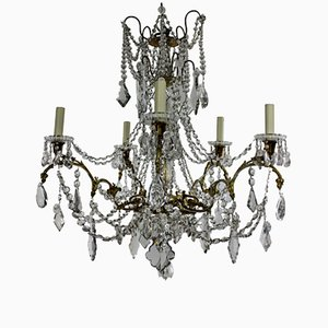 Lustre Antique de Baccarat, France, 1880s