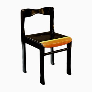 Almost Black Side Chair by Markus Friedrich Staab for Atelier Staab