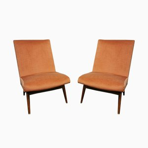 Vintage Cocktail Chairs by Parker Knoll, 1960s, Set of 2