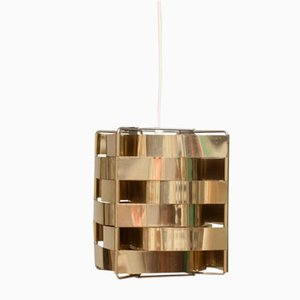 Lámpara de techo vintage de Max Sauze para Maison Barbier