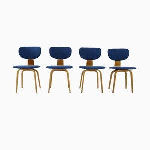 Vintage CB02 Esszimmerstühle von Cees Braakman für UMS Pastoe, 4er Set