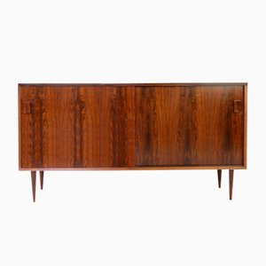 Vintage Rosewood Sideboard by Poul Jessen for Viby