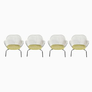 Luta Armchairs by B&B Italia for B&B Italia / C&B Italia, 2000s, Set of 4