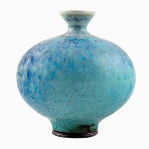 Vintage Swedish Pottery Vase by Berndt Friberg