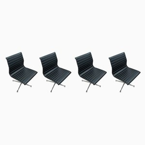 Mid-Century EA105 Dining Chairs by Charles & Ray Eames for Herman Miller, Set of 4