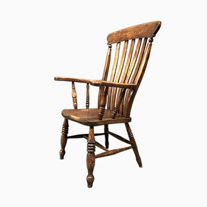 Fauteuil Windsor Antique, Angleterre, 1900s