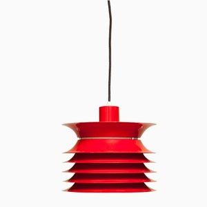 Lámpara de techo vintage de metal, años 60