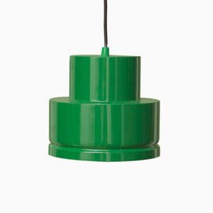 Vintage Green Metal Ceiling Lamp