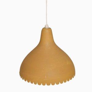 Vintage Deckenlampe aus Metall