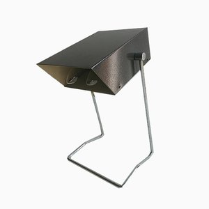 Lampe de Bureau Modèle 81837 en Aluminium et Chrome par Josef Hurka pour Napako, 1960s