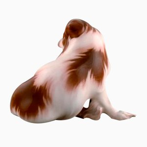 Porcelain Model 1637 Pekingese Sculpture from Bing & Grondahl