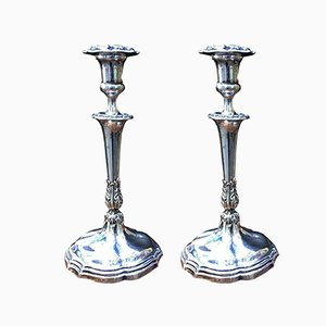 Antique Candleholders by Delfino Golzi for Delfino Golzi, Set of 2