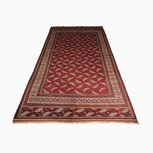 Orientalishcher turkmenischer Vintage Teppich