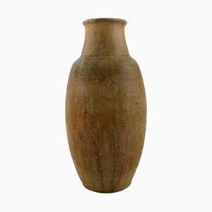 Grand Vase en Grès Verni par Patrick Nordstrøm pour Royal Copenhagen, 1930s