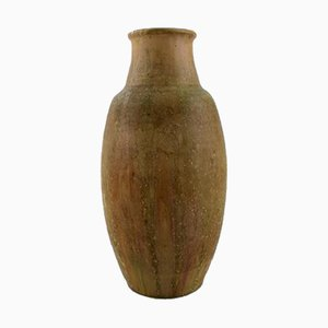 Large Glazed Stoneware Vase by Patrick Nordstrøm for Royal Copenhagen, 1930s
