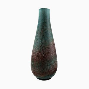 Large Stoneware Vase by Gunnar Nylund for Rörstrand, 1950s