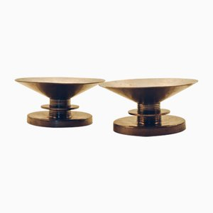 Vintage Candleholders by Sylvia Stave for C.G.Hallberg, Set of 2