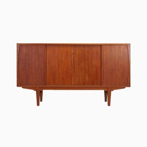 Mid-century Danish Teak Highboard from A. Ahlström Osakeyhtiö, 1970s