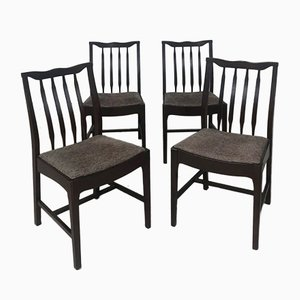 Vintage Danish Dining Chairs from Stag, 1960s, Set of 4
