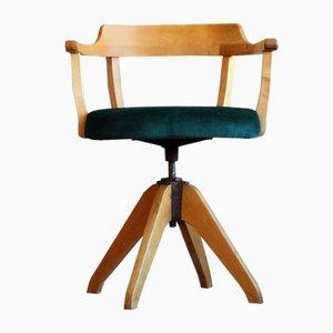 Schwedischer Vintage Schreibtischstuhl von Hadar Schmidt