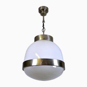 Italienische Delta Deckenlampe von Sergio Mazza für Artemide, 1960er