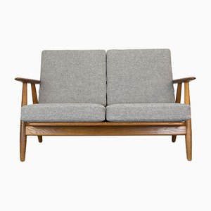 Danish 2-Seater Cigar Sofa by Hans J. Wegner for Getama, 1960s