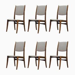 Esszimmerstühle von Skovby, 1960er, 6er Set