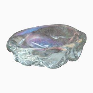 Cuenco de cristal de Murano de Archimede Seguso, años 50