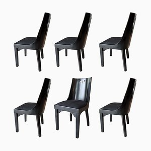 Dining Chairs Gondola by Jean Pascaud, 1930s, Set of 6