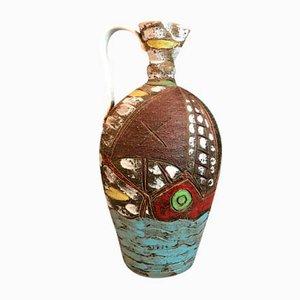 Vintage Floor Vase by Fratelli Fanciullacci, 1950s